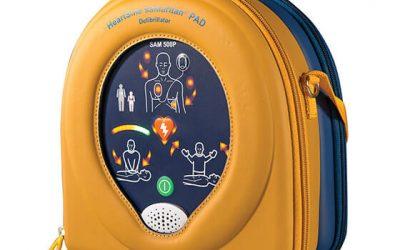 Defibrillator a must