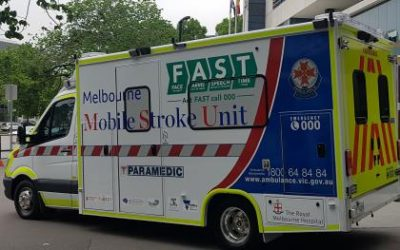 New Stoke Ambulance delivering effective stroke treatment