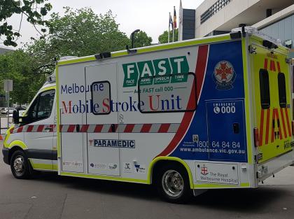 New Stoke Ambulance delivering effective stroke treatment