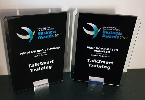TalkSmart Training wins 2019 Campaspe Murray Business Awards